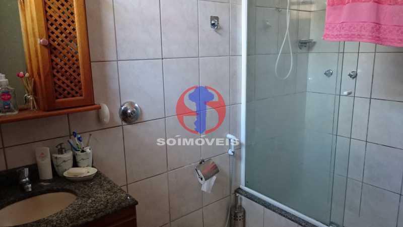 Banheiro suite 2ºar - Casa de Vila 3 quartos à venda Vila Isabel, Rio de Janeiro - R$ 620.000 - TJCV30084 - 11