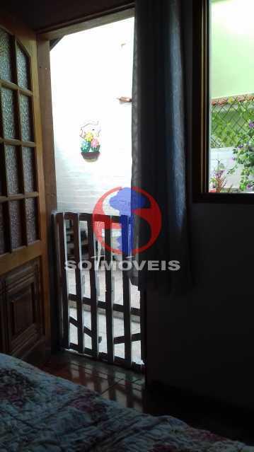 Varanda do fundos 2ºar n - Casa de Vila 3 quartos à venda Vila Isabel, Rio de Janeiro - R$ 620.000 - TJCV30084 - 10