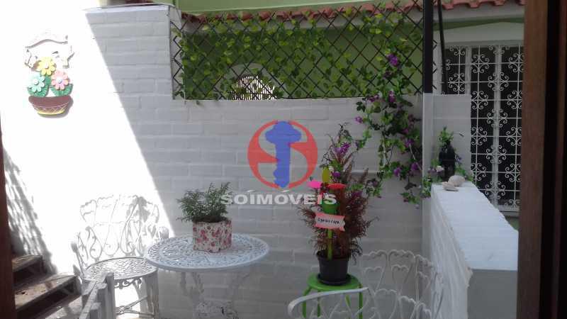 Varanda dos fundos 2ºar  - Casa de Vila 3 quartos à venda Vila Isabel, Rio de Janeiro - R$ 620.000 - TJCV30084 - 4
