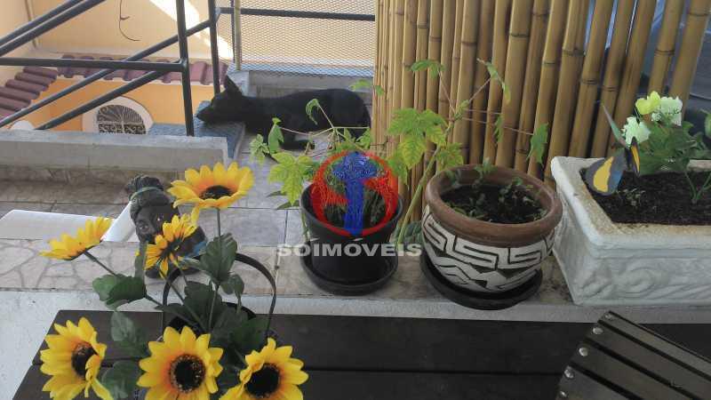 Terraço - Casa de Vila 3 quartos à venda Vila Isabel, Rio de Janeiro - R$ 620.000 - TJCV30084 - 5
