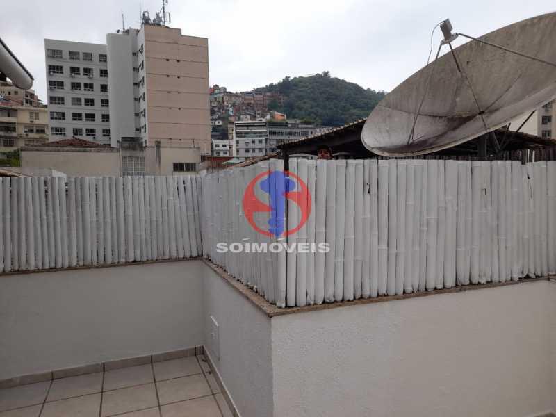 VISTA - Cobertura 2 quartos à venda Copacabana, Rio de Janeiro - R$ 1.500.000 - TJCO20032 - 3