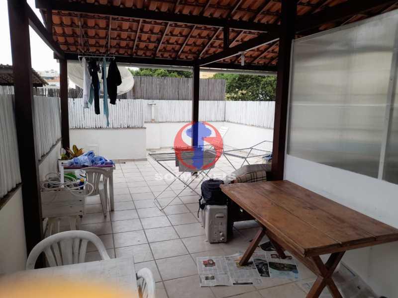ÁREA EXTERNA - Cobertura 2 quartos à venda Copacabana, Rio de Janeiro - R$ 1.500.000 - TJCO20032 - 7