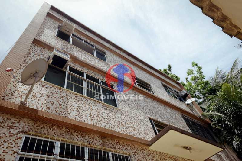 fachada - Apartamento 1 quarto à venda Lins de Vasconcelos, Rio de Janeiro - R$ 175.000 - TJAP10341 - 1