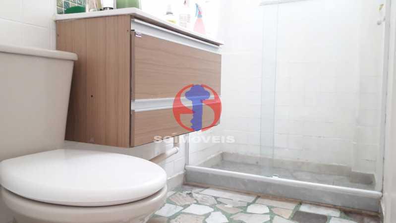 banheiro - Apartamento 1 quarto à venda Lins de Vasconcelos, Rio de Janeiro - R$ 175.000 - TJAP10341 - 13