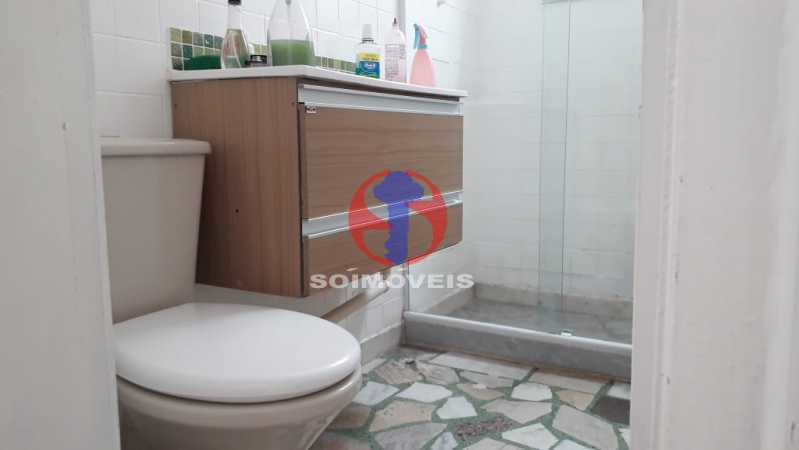 banheiro - Apartamento 1 quarto à venda Lins de Vasconcelos, Rio de Janeiro - R$ 175.000 - TJAP10341 - 14