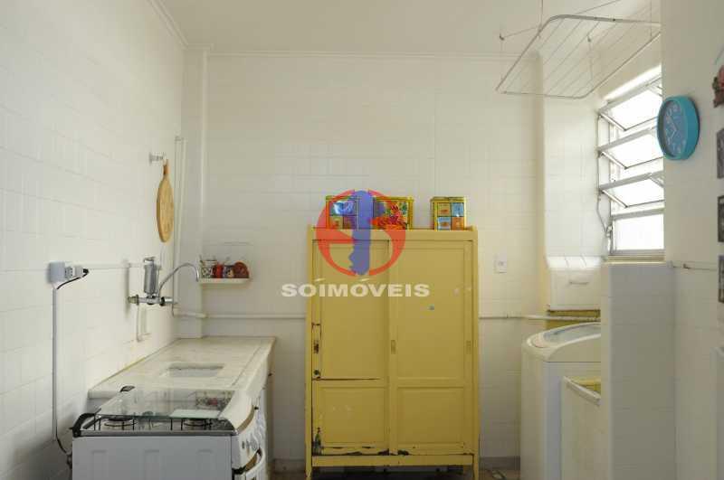 cozinha com area de serviço - Apartamento 1 quarto à venda Lins de Vasconcelos, Rio de Janeiro - R$ 175.000 - TJAP10341 - 15