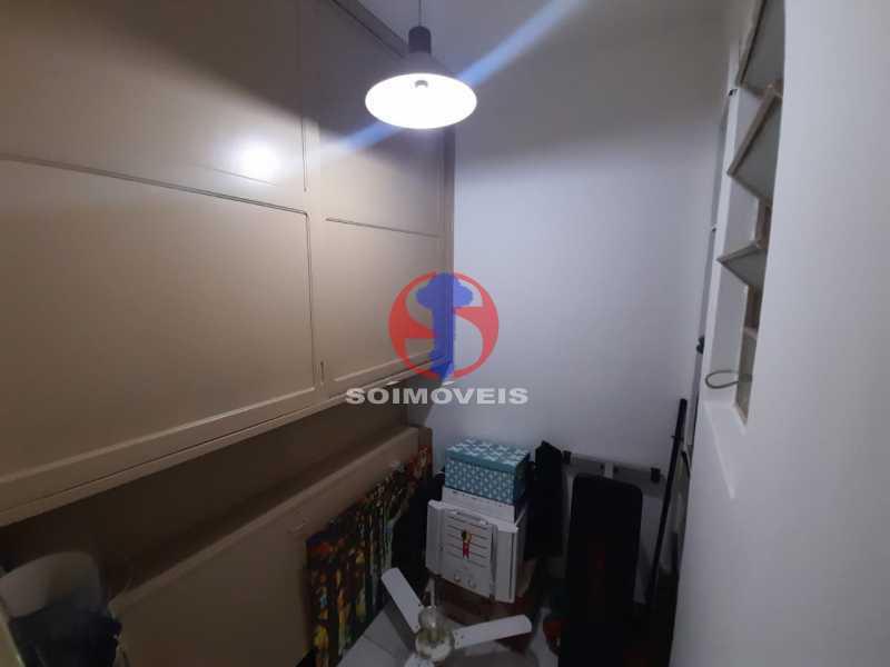 dependência  - Apartamento 1 quarto à venda Tijuca, Rio de Janeiro - R$ 295.000 - TJAP10345 - 1