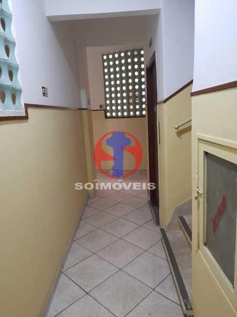 corredor elevador - Apartamento 1 quarto à venda Tijuca, Rio de Janeiro - R$ 295.000 - TJAP10345 - 18