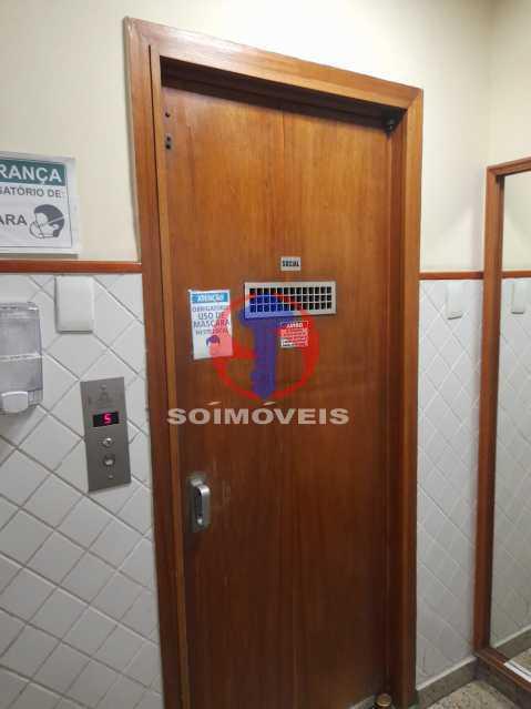 elevador - Apartamento 1 quarto à venda Tijuca, Rio de Janeiro - R$ 295.000 - TJAP10345 - 19
