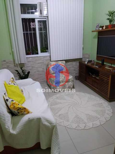 Sala - Casa de Vila 1 quarto à venda Rio Comprido, Rio de Janeiro - R$ 250.000 - TJCV10018 - 5
