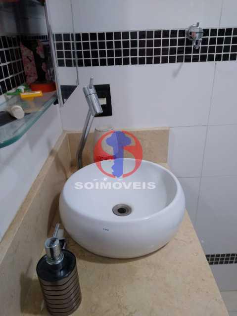 Wc Social - Casa de Vila 1 quarto à venda Rio Comprido, Rio de Janeiro - R$ 250.000 - TJCV10018 - 9