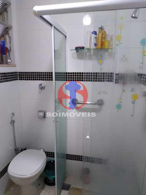 Banheiro Social - Casa de Vila 1 quarto à venda Rio Comprido, Rio de Janeiro - R$ 250.000 - TJCV10018 - 8