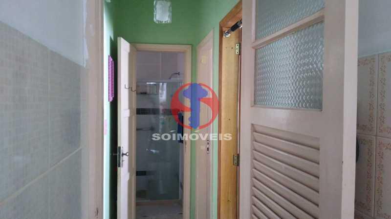 Circulação - Casa de Vila 1 quarto à venda Rio Comprido, Rio de Janeiro - R$ 250.000 - TJCV10018 - 10