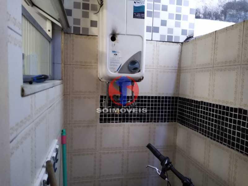Banheiro de Serviço - Casa de Vila 1 quarto à venda Rio Comprido, Rio de Janeiro - R$ 250.000 - TJCV10018 - 16