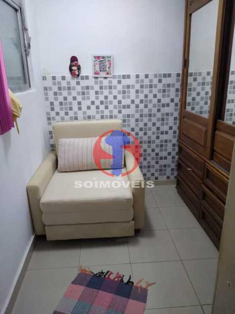 Quarto de serviço - Casa de Vila 1 quarto à venda Rio Comprido, Rio de Janeiro - R$ 250.000 - TJCV10018 - 14