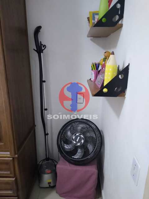 Quarto de Serviço - Casa de Vila 1 quarto à venda Rio Comprido, Rio de Janeiro - R$ 250.000 - TJCV10018 - 15