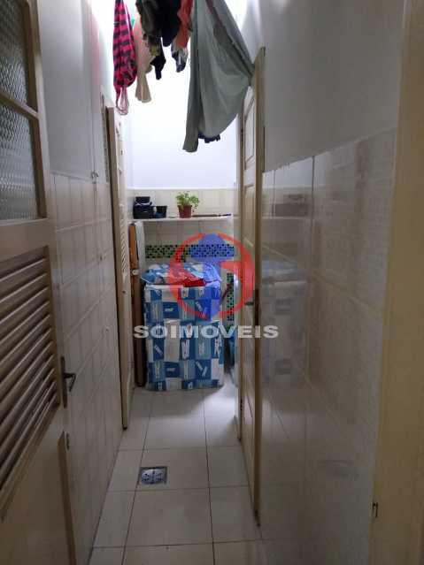 Area - Casa de Vila 1 quarto à venda Rio Comprido, Rio de Janeiro - R$ 250.000 - TJCV10018 - 21