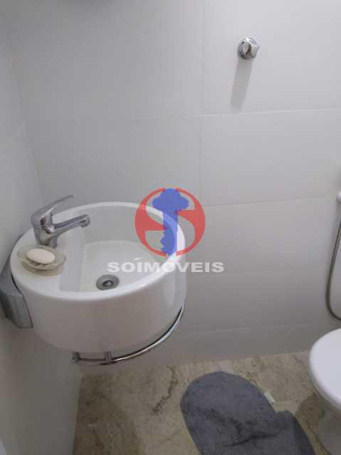 Wc - Casa de Vila 1 quarto à venda Rio Comprido, Rio de Janeiro - R$ 250.000 - TJCV10018 - 17