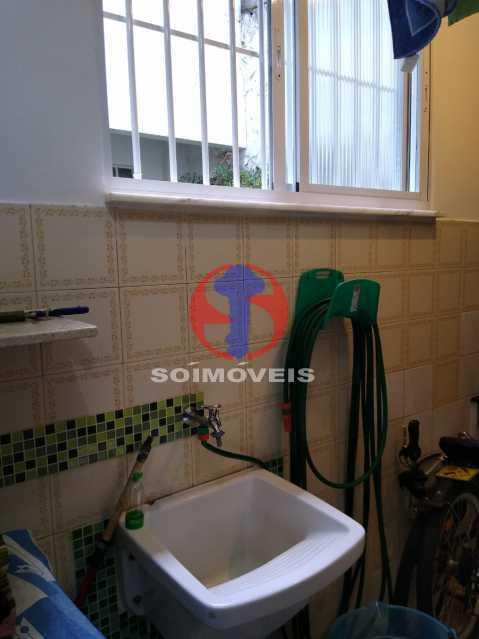 Lavanderia - Casa de Vila 1 quarto à venda Rio Comprido, Rio de Janeiro - R$ 250.000 - TJCV10018 - 20