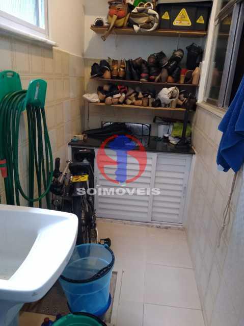 Area - Casa de Vila 1 quarto à venda Rio Comprido, Rio de Janeiro - R$ 250.000 - TJCV10018 - 22