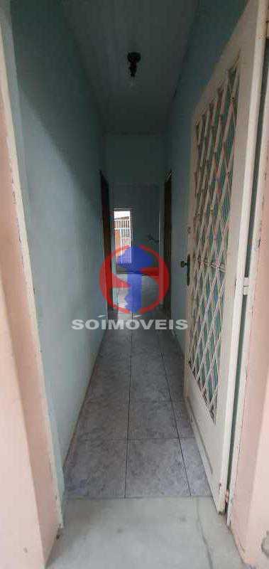 ENTRADA - Casa 3 quartos à venda Engenho Novo, Rio de Janeiro - R$ 315.000 - TJCA30086 - 4