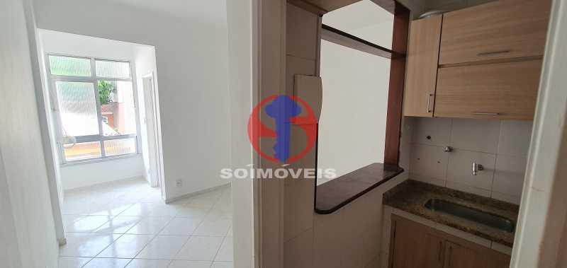 cozinha e sala - Apartamento 1 quarto à venda Andaraí, Rio de Janeiro - R$ 310.000 - TJAP10353 - 3