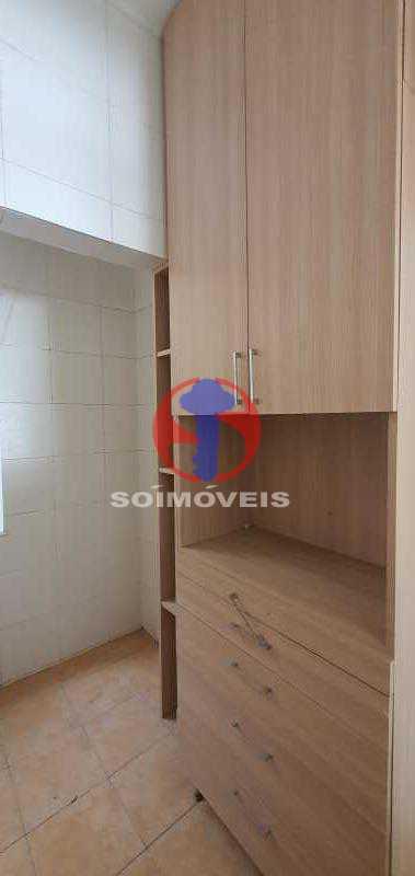 cozinha - Apartamento 1 quarto à venda Andaraí, Rio de Janeiro - R$ 310.000 - TJAP10353 - 11