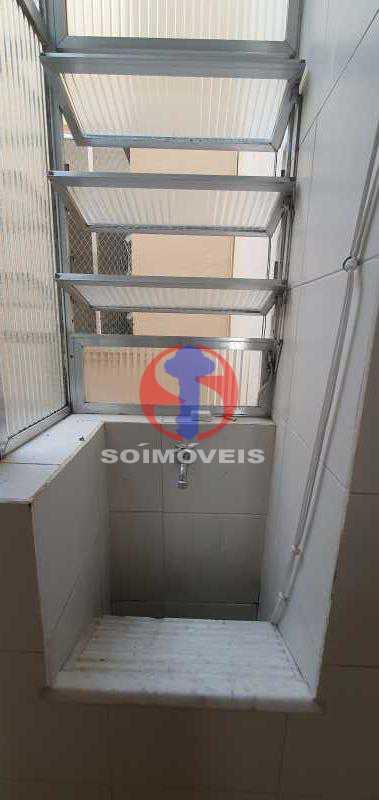 área de serviço - Apartamento 1 quarto à venda Andaraí, Rio de Janeiro - R$ 310.000 - TJAP10353 - 14