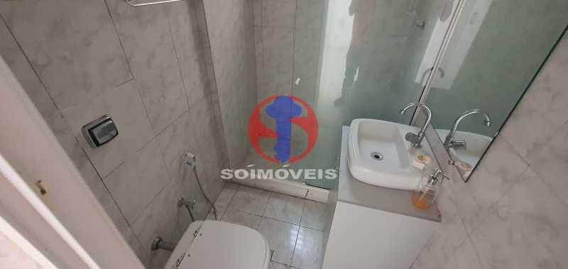 banheiro - Apartamento 1 quarto à venda Andaraí, Rio de Janeiro - R$ 310.000 - TJAP10353 - 21