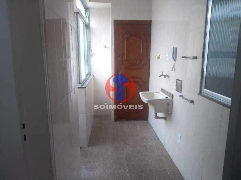 Área Serviço - Apartamento 3 quartos à venda Copacabana, Rio de Janeiro - R$ 1.460.000 - TJAP30776 - 27