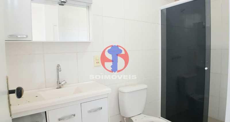 BANHEIRO SOCIALt 1 - Apartamento 2 quartos à venda Pechincha, Rio de Janeiro - R$ 237.000 - TJAP21593 - 12