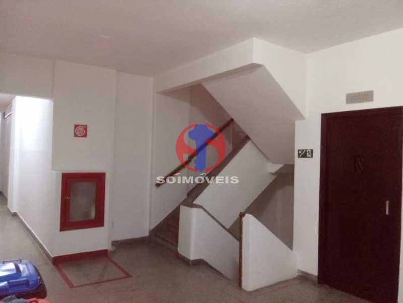 ESCADA INTERNA - Apartamento 1 quarto à venda Copacabana, Rio de Janeiro - R$ 380.000 - TJAP10358 - 13