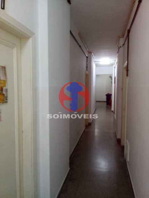 CORREDOR - Apartamento 1 quarto à venda Copacabana, Rio de Janeiro - R$ 380.000 - TJAP10358 - 14