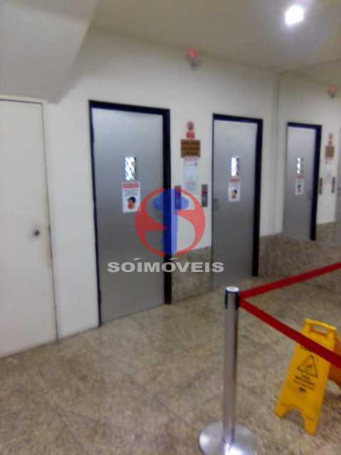 HALL - Apartamento 1 quarto à venda Copacabana, Rio de Janeiro - R$ 380.000 - TJAP10358 - 15