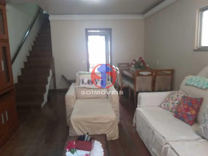 Sala - Casa 5 quartos à venda Tijuca, Rio de Janeiro - R$ 1.100.000 - TJCA50022 - 6