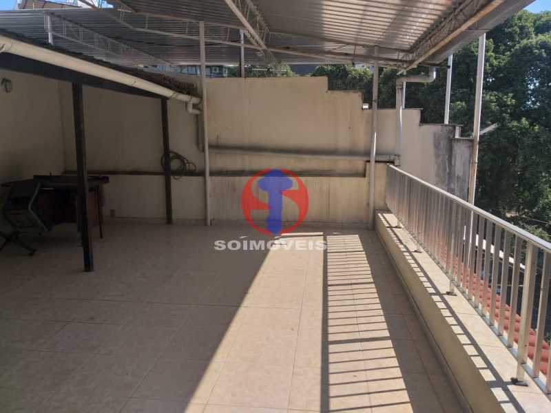 Terraço - Casa 5 quartos à venda Tijuca, Rio de Janeiro - R$ 1.100.000 - TJCA50022 - 4