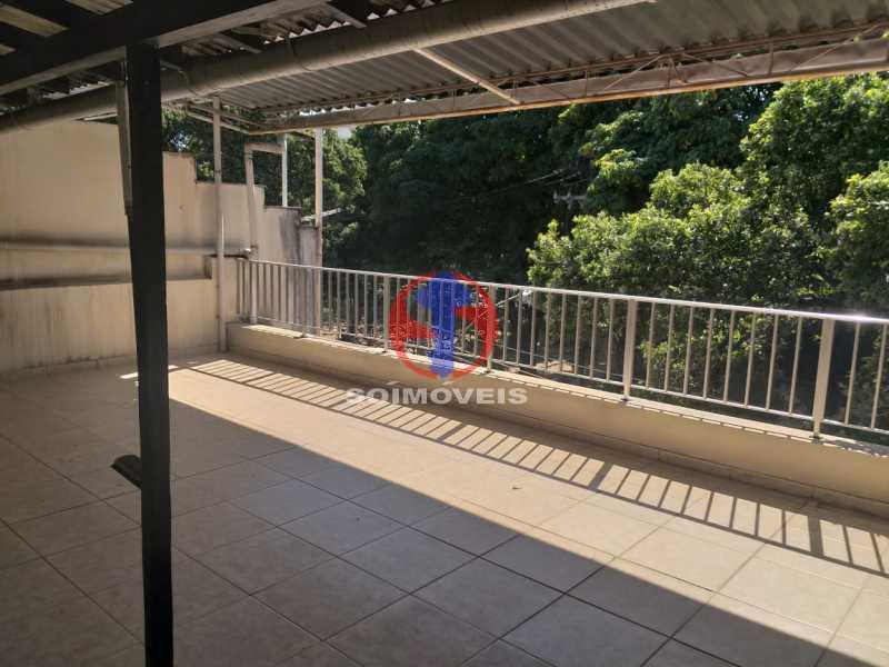 Terraço - Casa 5 quartos à venda Tijuca, Rio de Janeiro - R$ 1.100.000 - TJCA50022 - 1