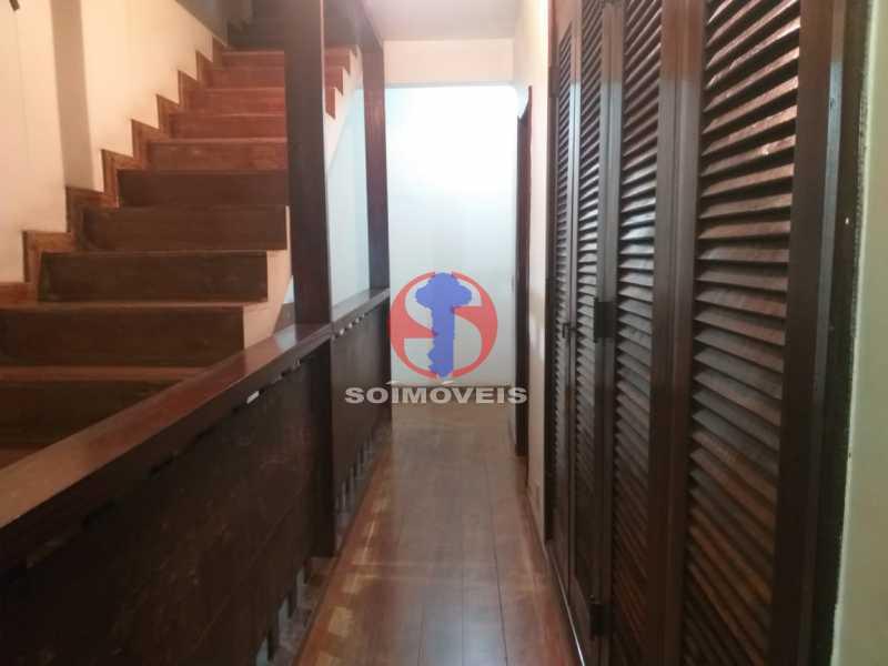 Circulação - Casa 5 quartos à venda Tijuca, Rio de Janeiro - R$ 1.100.000 - TJCA50022 - 10