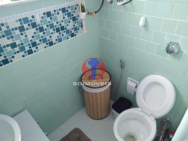 WC - Casa de Vila 3 quartos à venda Tijuca, Rio de Janeiro - R$ 680.000 - TJCV30087 - 20