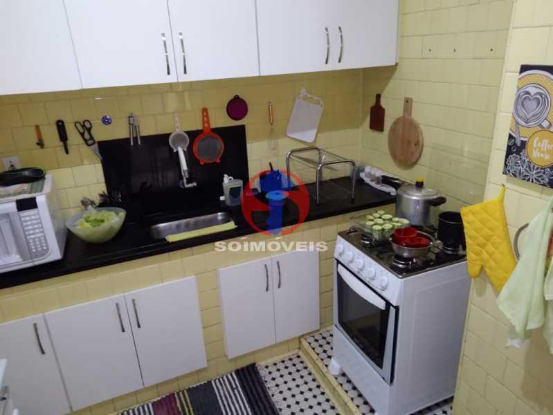 COZINHA - Casa de Vila 3 quartos à venda Tijuca, Rio de Janeiro - R$ 680.000 - TJCV30087 - 16