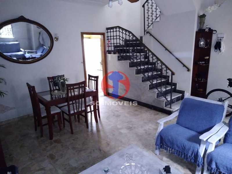 SALA - Casa de Vila 3 quartos à venda Tijuca, Rio de Janeiro - R$ 680.000 - TJCV30087 - 4