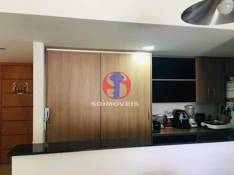 COZINHA - Apartamento 3 quartos à venda Tijuca, Rio de Janeiro - R$ 1.298.000 - TJAP30785 - 7