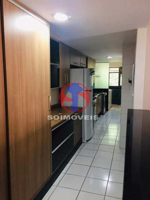 COZINHA - Apartamento 3 quartos à venda Tijuca, Rio de Janeiro - R$ 1.298.000 - TJAP30785 - 8