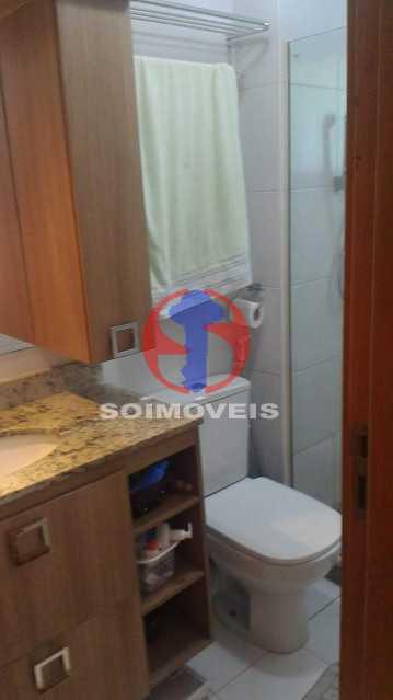 BANHEIRO SUÍTE 1 - Apartamento 3 quartos à venda Tijuca, Rio de Janeiro - R$ 1.298.000 - TJAP30785 - 16