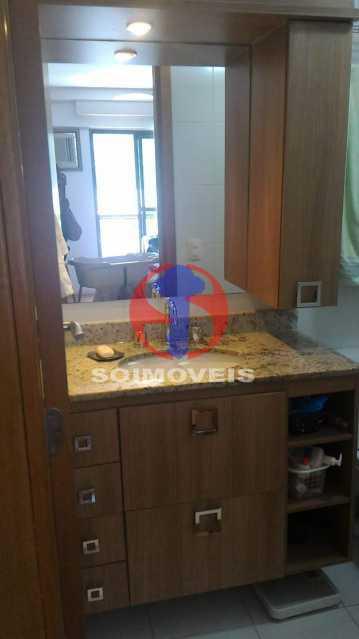 BANHEIRO SUÍTE 2 - Apartamento 3 quartos à venda Tijuca, Rio de Janeiro - R$ 1.298.000 - TJAP30785 - 22
