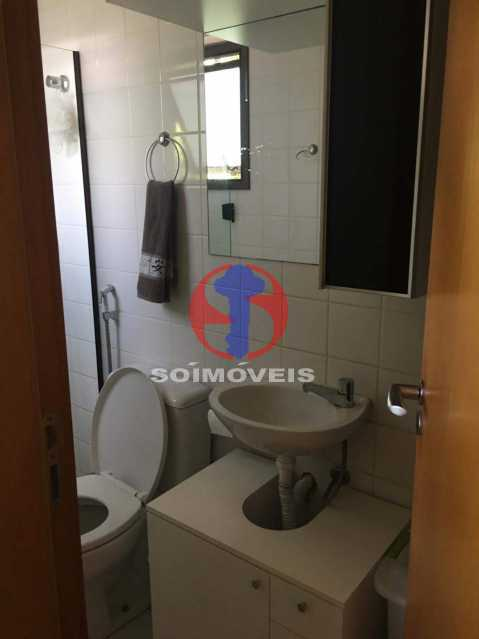 BANHEIRO SOCIAL - Apartamento 3 quartos à venda Tijuca, Rio de Janeiro - R$ 1.298.000 - TJAP30785 - 25