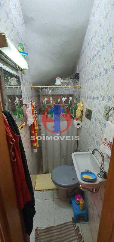 BANHEIRO SOCIAL - Casa de Vila 4 quartos à venda Engenho Novo, Rio de Janeiro - R$ 489.000 - TJCV40026 - 10