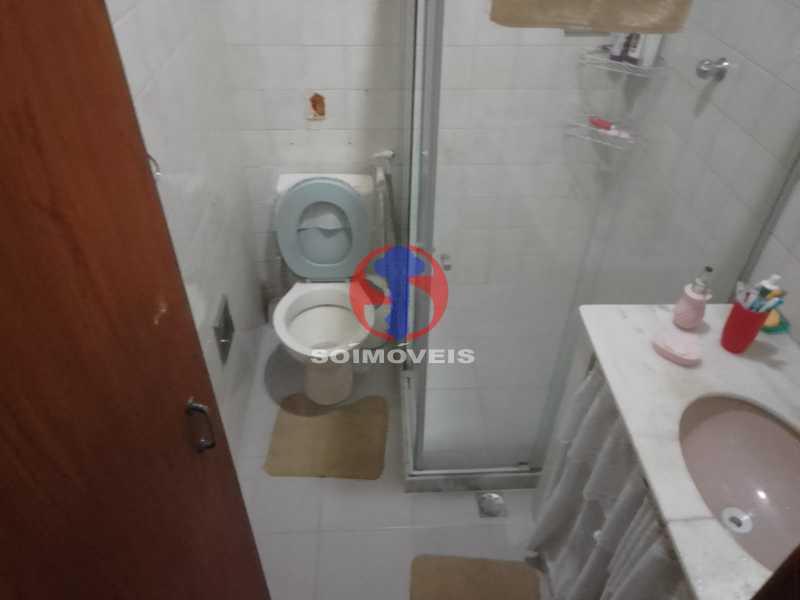 Banheiro Social - Casa de Vila 1 quarto à venda Vila Isabel, Rio de Janeiro - R$ 350.000 - TJCV10019 - 10