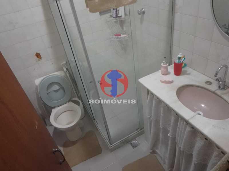 Banheiro Social - Casa de Vila 1 quarto à venda Vila Isabel, Rio de Janeiro - R$ 350.000 - TJCV10019 - 11