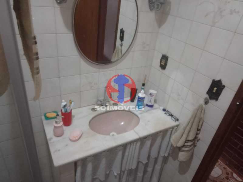 Banheiro Social - Casa de Vila 1 quarto à venda Vila Isabel, Rio de Janeiro - R$ 350.000 - TJCV10019 - 12